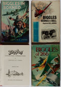"""Books:Fiction, Captain W. E. Johns. Lot of Four """"Biggles"""" Books. [Variouspublishers, dates, editions]. Generally good. ... (Total: 4 Items)"""