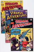 Golden Age (1938-1955):Science Fiction, Strange Adventures Group (DC, 1951).... (Total: 4 Comic Books)