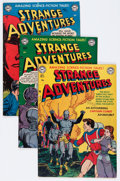 Golden Age (1938-1955):Science Fiction, Strange Adventures Group (DC, 1951-52).... (Total: 7 Comic Books)