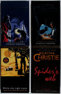 Books:Mystery & Detective Fiction, Agatha Christie. Lot of Four Reprints. [Various publishers, dates,editions]. Generally good. . ... (Total: 4 Items)