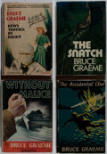 Books:Mystery & Detective Fiction, Bruce Graeme. Lot of Four Mysteries. [Various publishers, dates,editions]. Generally good. . ... (Total: 4 Items)