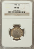 Liberty Nickels: , 1908 5C MS63 NGC. NGC Census: (110/265). PCGS Population (139/315).Mintage: 22,686,176. Numismedia Wsl. Price for problem ...