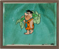 Animation Art:Production Cel, The Flintstones Fred and Big Fish Animation Art ProductionCel (c. 1961)....