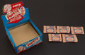 """Non-Sport Cards:Unopened Packs/Display Boxes, Circa 1959 Chix Confectionery """"Popeye Card Chewing Gum"""" Display Boxand Five Paper Pouch Packs. ..."""