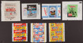 Non-Sport Cards:Unopened Packs/Display Boxes, 1950's-1970's Topps, Fleer & Others Wrappers Collection (16)....