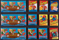Football Cards:Sets, 1979-1984 Topps Football Wax & Rack Pack Collection (12). ...