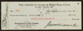 Baseball Collectibles:Others, 1930 Vernon Gomez New York Yankees Payroll Check Also Signed byBarrow and Ruppert....