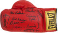 Boxing Collectibles:Autographs, Boxing Greats Multi Signed Glove. ...