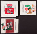 Non-Sport Cards:Sets, 1960's Non-Sports Military Theme Wax Pack Wrappers Collection (35)....