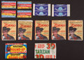 Non-Sport Cards:Unopened Packs/Display Boxes, 1950's Topps, Disney and Bowman Wax Pack Collection (13). ...