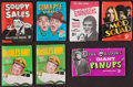 Non-Sport Cards:Unopened Packs/Display Boxes, 1960's Topps, Fleer & Philadelphia Wax Pack Group (7) -Television Shows Theme. ...