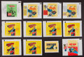 Non-Sport Cards:Sets, 1960's Non-Sports Wax Pack Wrappers Collection (29). ...