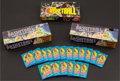 Basketball Cards:Sets, 1975 & 1976 Topps Basketball Wrappers and Empty Counter Display Boxes (21). ...