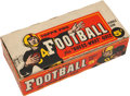 Football Cards:Sets, 1959 Topps Football Empty Counter Display Box. ...