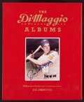 "Baseball Collectibles:Others, Joe DiMaggio ""The DiMaggio Albums"" Signed Case, With UnsignedBooks. ..."