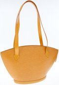 Luxury Accessories:Bags, Louis Vuitton Yellow Epi Leather St. Jacques MM Tote Bag. ...