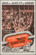 "Movie Posters:Adventure, White Slave Ship (American International, 1962). One Sheet (27"" X41"") and Lobby Cards (3) (11"" X 14""). Adventure.. ... (Total: 4Items)"