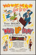 """Movie Posters:Sexploitation, What's Up Front! and Other Lot (Fairway International, 1964). OneSheet (27"""" X 41"""") and French Affiche (22.5"""" X 30.5""""). Sex...(Total: 2 Items)"""