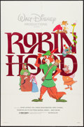 "Movie Posters:Animation, Robin Hood & Others Lot (Buena Vista, R-1982). One Sheets (3) (27"" X 41""). Animation.. ... (Total: 3 Items)"