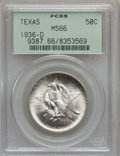 Commemorative Silver: , 1936-D 50C Texas MS66 PCGS. PCGS Population (923/320). NGC Census:(689/265). Mintage: 9,039. Numismedia Wsl. Price for pro...