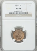 Indian Cents: , 1861 1C MS64 NGC. NGC Census: (570/372). PCGS Population (400/240).Mintage: 10,100,000. Numismedia Wsl. Price for problem ...