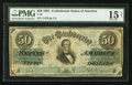 Confederate Notes:1861 Issues, T16 $50 1861 PF-1 Cr. 280.. ...