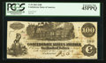 Confederate Notes:1862 Issues, T39 $100 1862 PF-6 Cr. UNL.. ...