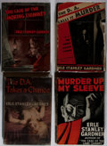 Books:Mystery & Detective Fiction, Erle Stanley Gardner. Group of Four Books, Three First Editions andOne Advance Reading Copy. Morrow, 1937-1948. Murder Up...(Total: 4 Items)
