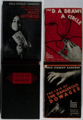 Books:Mystery & Detective Fiction, Erle Stanley Gardner. Group of Four Books, Two First Editions andTwo Advance Reading Copies. Morrow, 1935-1970. D. A. Dra...(Total: 4 Items)