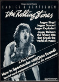 """Movie Posters:Rock and Roll, Ladies and Gentlemen: The Rolling Stones (Dragon Aire, 1973).Window Card (14"""" X 19.5""""). Rock and Roll.. ..."""