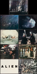 """Movie Posters:Science Fiction, Alien (20th Century Fox, 1979). Deluxe Lobby Card Set of 9 (11"""" X14""""). Science Fiction.. ... (Total: 9 Items)"""
