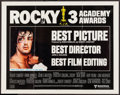 "Movie Posters:Academy Award Winners, Rocky (United Artists, 1977). Half Sheet (22"" X 28"") Academy AwardStyle. Sports.. ..."