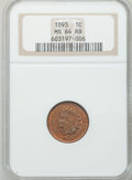 Indian Cents: , 1893 1C MS64 Red and Brown NGC. NGC Census: (336/170). PCGSPopulation (218/21). Mintage: 46,642,196. Numismedia Wsl. Price...