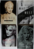 Books:Biography & Memoir, Mae West. Group of Four First Edition Books. Various, 1997-2009.Very good or better condition.... (Total: 4 Items)