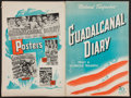 "Movie Posters:War, Guadalcanal Diary (20th Century Fox, 1943). Uncut Pressbook(Multiple Pages, 13.75"" X 20.5""). War.. ..."