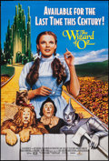 "Movie Posters:Fantasy, The Wizard of Oz (MGM/UA, R-1988 and R-1996). Video Posters: One Sheet (27"" X 40"") and (20"" X 36""). Fantasy.. ..."