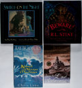 Books:Science Fiction & Fantasy, Ray Bradbury. Group of Four Signed Books. Various, 1998-2002. Various editions and printings. Beware! is signed by Stine... (Total: 4 Items)