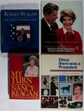 Books:Americana & American History, [Presidential Related]. Group of Four Books. Various, 1964-1995.Various printings. All three Reagan books are signed by N...(Total: 4 Items)