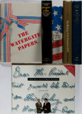 Books:Americana & American History, [Presidential]. Richard Nixon and Watergate [subjects]. Group ofSix First Edition Books, Five Signed or Inscribed. Various,...(Total: 6 Items)