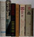 Books:Biography & Memoir, [Film Stars]. Group of Seven Books, Six Signed or Inscribed.Various, 1940-1989. Various printings. Harlow is inscribed... (Total: 7 Items)