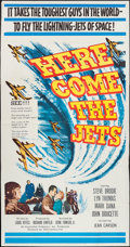 "Movie Posters:War, Here Come the Jets (20th Century Fox, 1959). Three Sheet (41"" X79""). War.. ..."