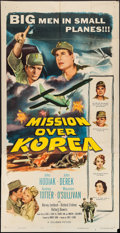 """Movie Posters:War, Mission Over Korea and Other Lot (Columbia, 1953). Three Sheet (41""""X 80.5"""") and One Sheet (27"""" X 41""""). War.. ... (Total: 2 Items)"""