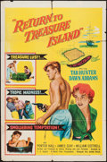 """Movie Posters:Adventure, Return to Treasure Island and Other Lot (United Artists, 1954). OneSheets (2) (27"""" X 41""""). Adventure.. ... (Total: 2 Items)"""
