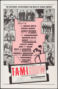 "The T.A.M.I. Show (American International, 1964). One Sheet (27"" X 41""). Rock and Roll"