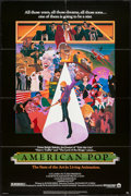 """Movie Posters:Animation, American Pop (Columbia, 1981). One Sheet (27"""" X 41""""). Animation.. ..."""