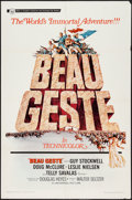 "Movie Posters:Adventure, Beau Geste and Other Lot (Universal, 1966). One Sheets (2) (27"" X41""). Adventure.. ... (Total: 2 Items)"