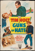 """Movie Posters:Western, Guns of Hate and Other Lot (RKO, 1948). One Sheet (27"""" X 39.5"""" and 27"""" X 41"""") Style A and Regular Style. Western.. ... (Total: 2 Items)"""