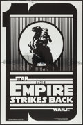 "Movie Posters:Science Fiction, The Empire Strikes Back (Kilian Enterprises, 1990). 10thAnniversary Silver Mylar One Sheet (27"" X 41"") Style B. ScienceFic..."