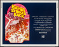 "Movie Posters:Science Fiction, The Empire Strikes Back (20th Century Fox, R-1982). Half Sheet (22"" X 28""). Science Fiction.. ..."