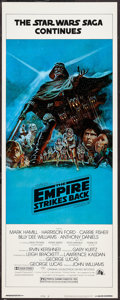 "Movie Posters:Science Fiction, The Empire Strikes Back (20th Century Fox, 1980). Insert (14"" X 36"") Style B. Science Fiction.. ..."